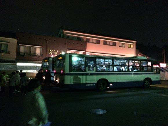 山門前バス乗り場