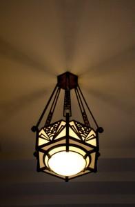 東京都庭園美術館玄関照明