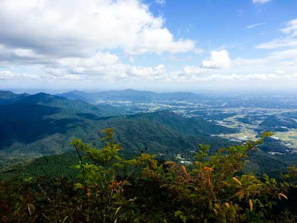 筑波山頂の景色