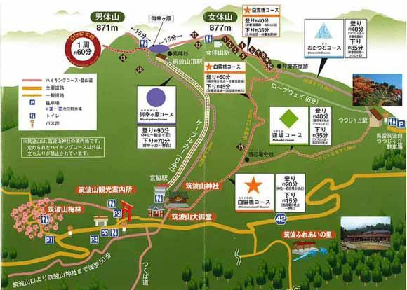 筑波山登山ルート