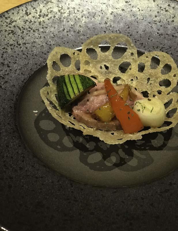 鴨の温野菜サラダ