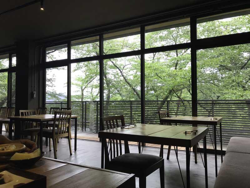 森の音 レストラン