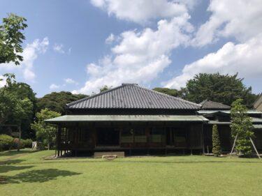 徳川家で唯一拝観できる松戸にある戸定邸レポート